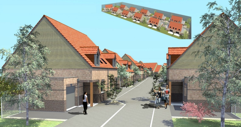 Offres programmes neufs maison neuve bbc 2 chambres avec garage et jardin aulnoye aymeries - Maison neuve bbc ...